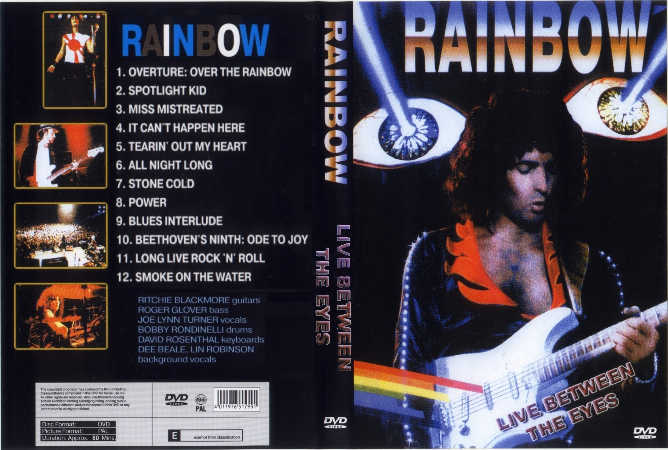 Rainbow - Live Between The Eyes