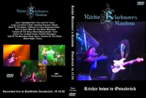 Rainbow - Ritchie bows to Osnabruck - 16.10.1995